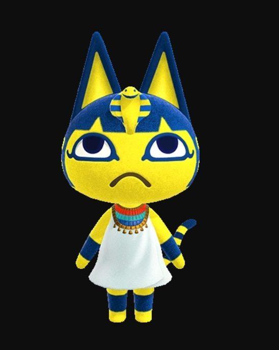 Animal Crossing Ankha