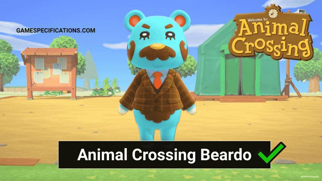 Beardo Animal Crossing