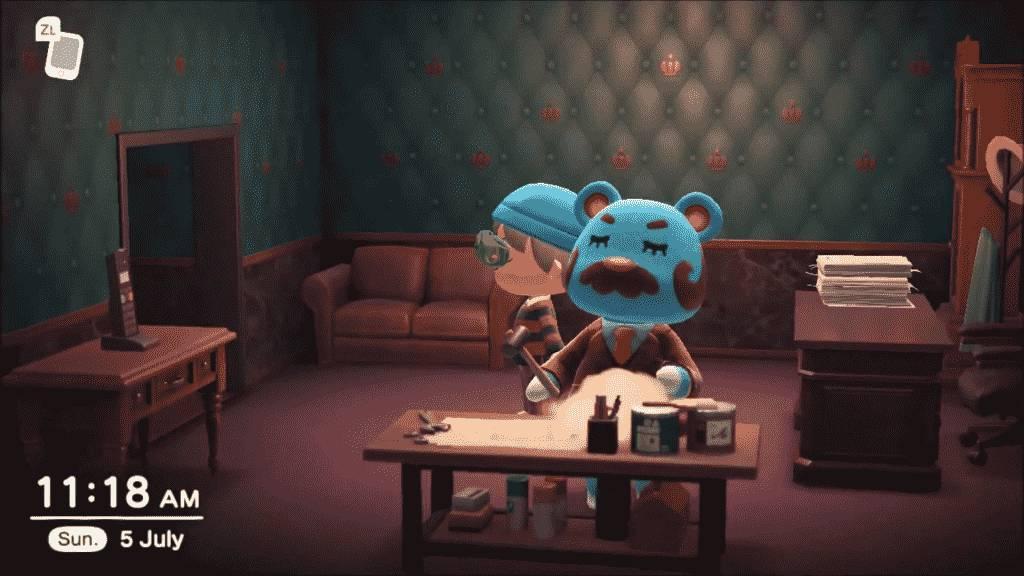 Beardo Animal Crossing Appearance