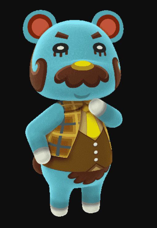 Beardo Animal Crossing Bio