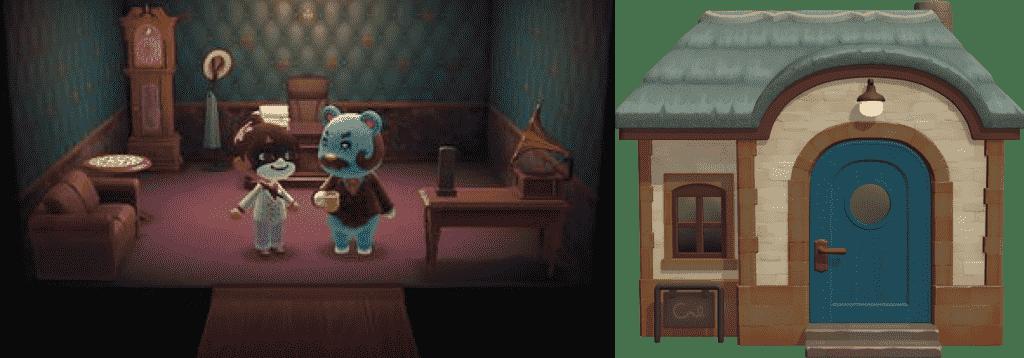 Beardo Animal Crossing House New Horizons