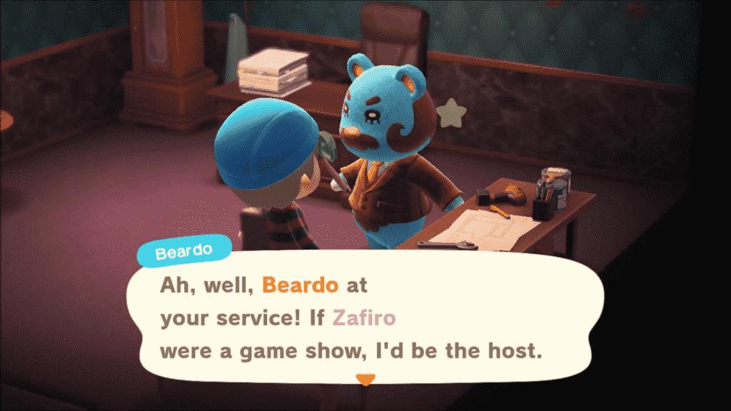 Beardo Animal Crossing Personality