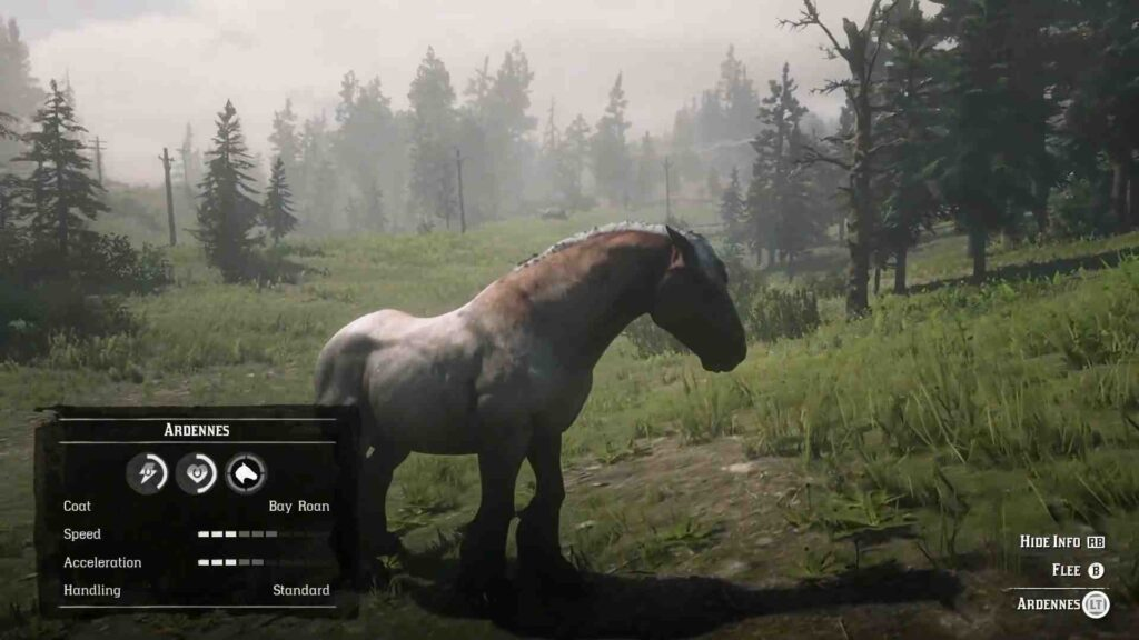 Red Dead Redemption 2 Horses Ardennes