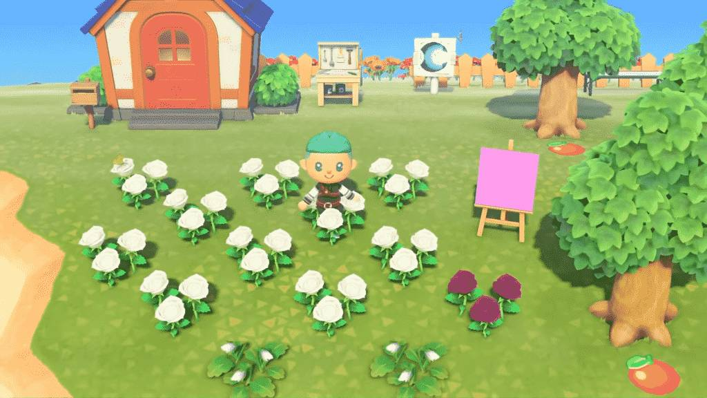 Breed Flowers in Animal Crossing