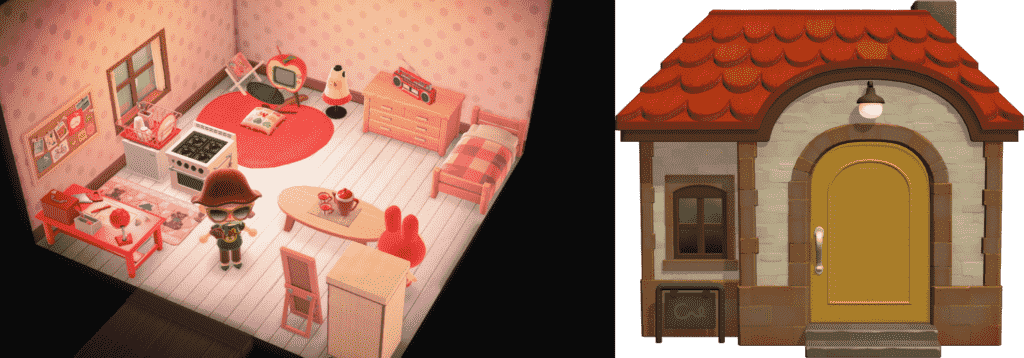 Bunnie Animal Crossing House