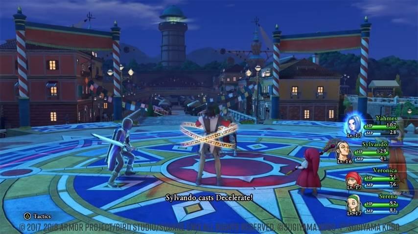 Dragon Quest 11 Best Party