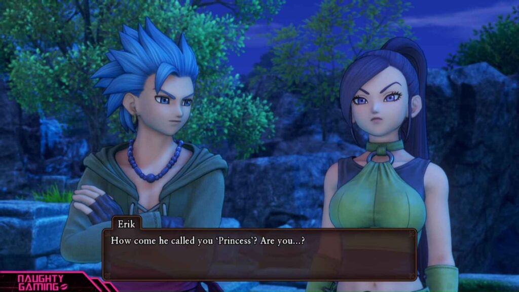 Dragon Quest 11 Jade - Personality