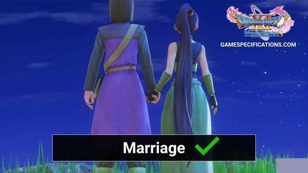 Dragon Quest 11 Marriage