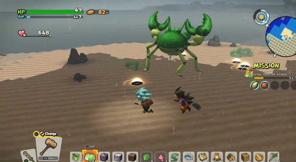 Super Strong Monsters Giant Crabber-Dabber-Doo