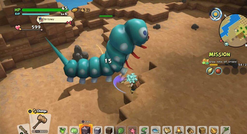 Super Strong Monsters Giant Killerpillar