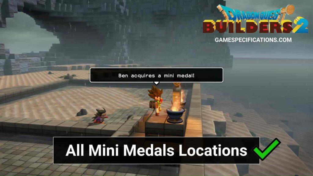 Dragon Quest Builders 2 Mini Medals