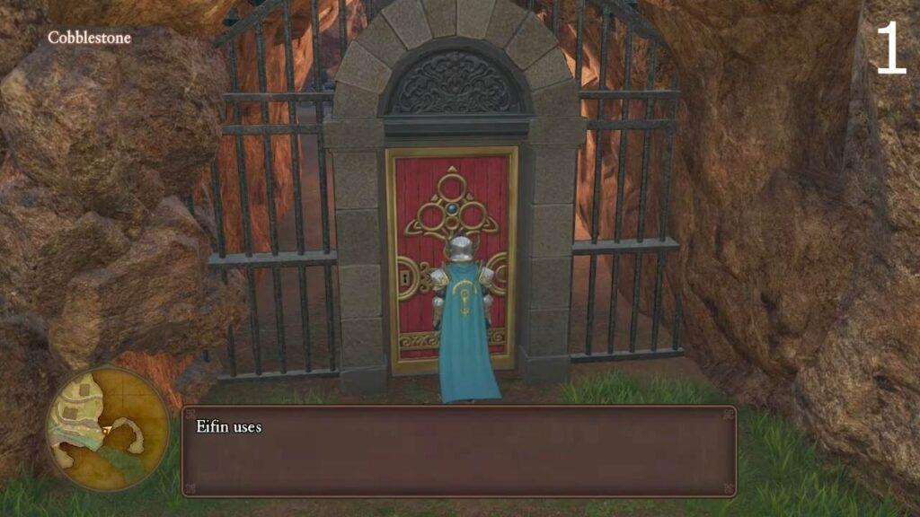 Dragon Quest XI Magic Key Doors