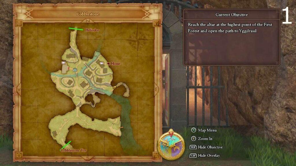 Locations of all Dragon Quest XI Magic Key Doors