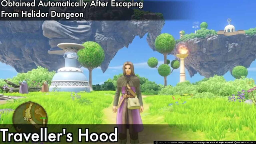 Dragon Quest XI Outfits for Hero