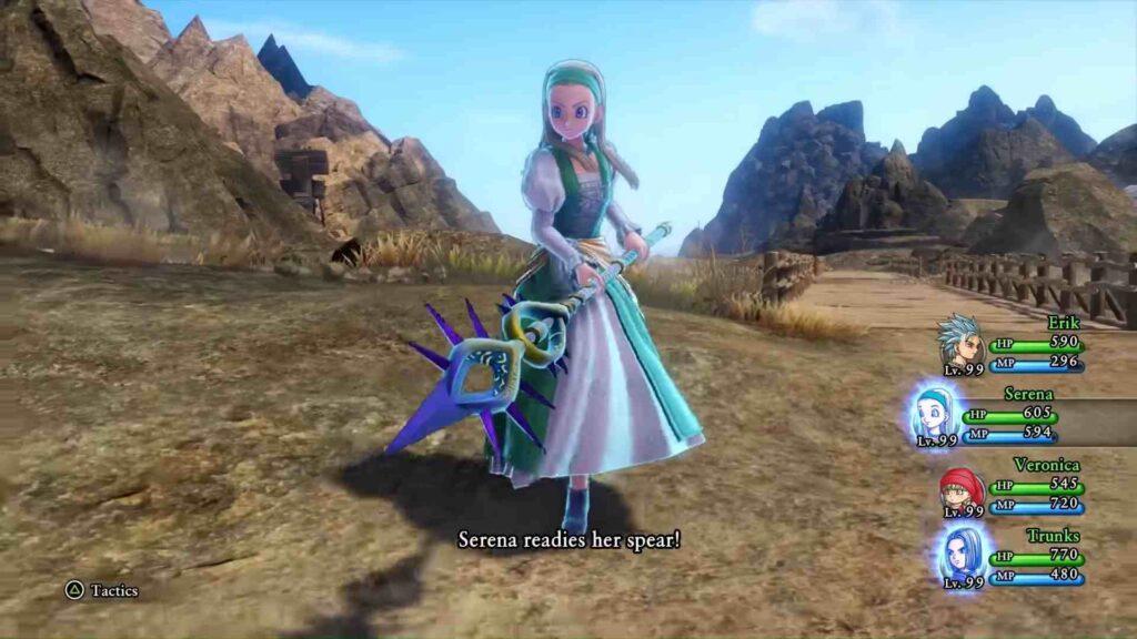 Dragon Quest XI Serena - Strategy