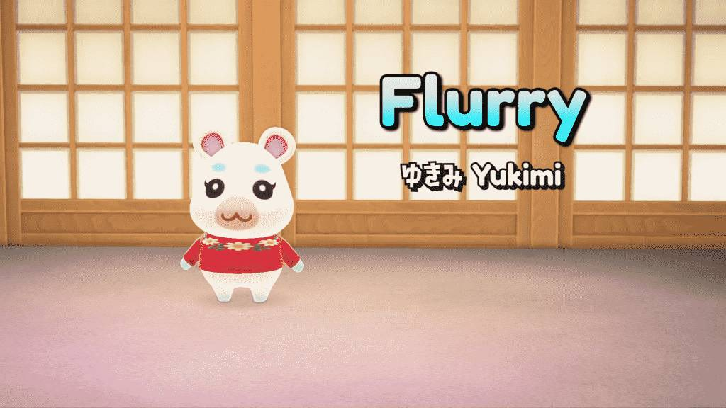 Flurry Animal Crossing - Appearance