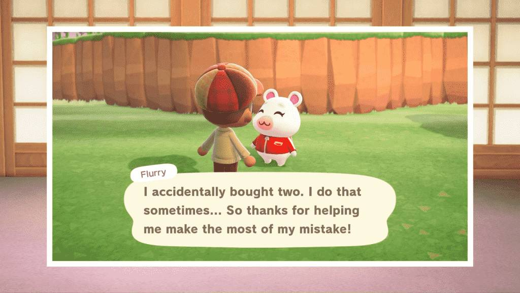 Flurry Animal Crossing - Personality