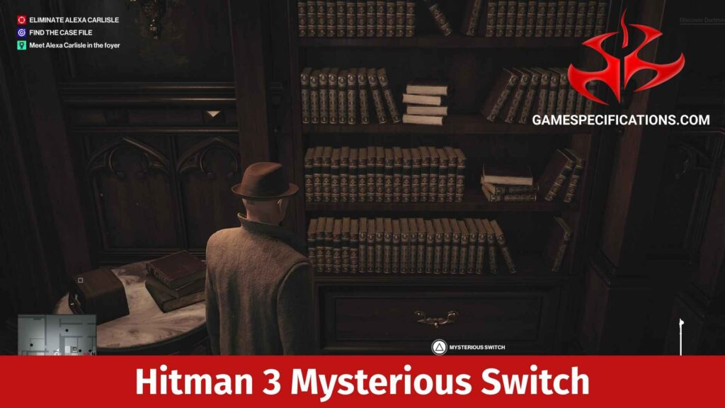 Hitman 3 Mysterious Switch