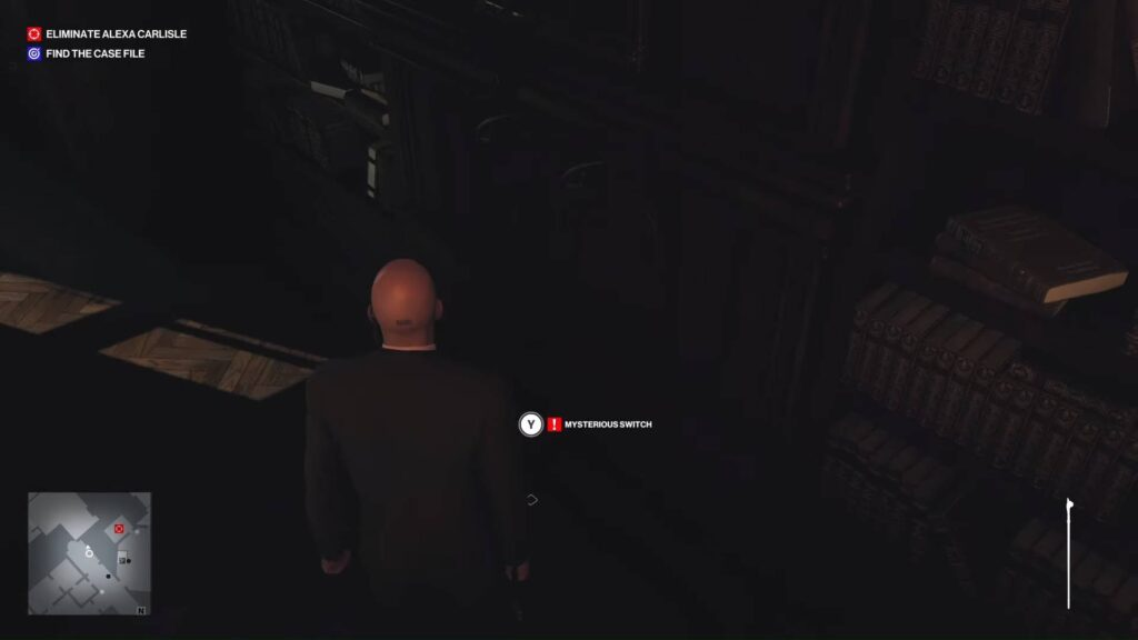What is Hitman 3 Mysterious Switch 1st door