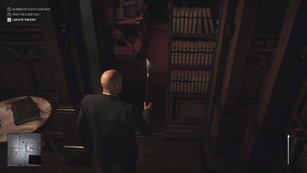 What is Hitman 3 Mysterious Switch library