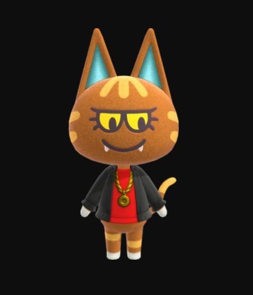 Animal Crossing Katt