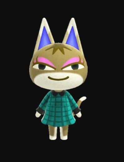 Animal Crossing Kitty