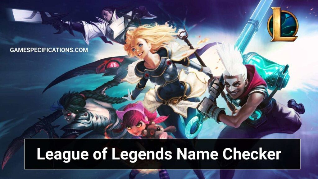 League Of Legends Name Checker