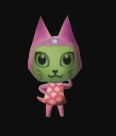 Animal Crossing Meow
