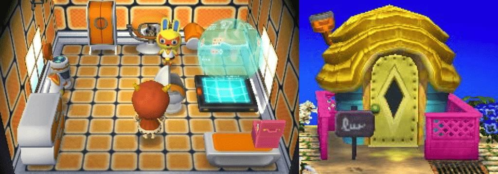 Mira Animal Crossing House New Leaf