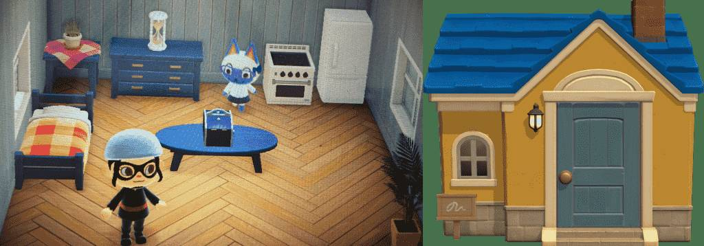 Mitzi Animal Crossing House New horzons
