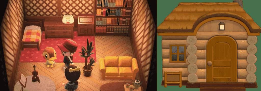 Molly Animal Crossing House New Horizon