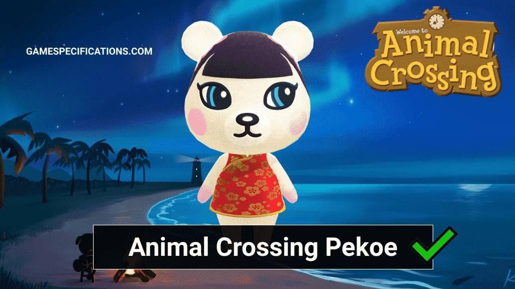 Pekoe Animal Crossing
