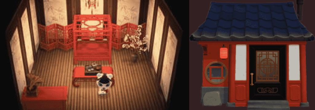 Pekoe Animal Crossing House New horizons