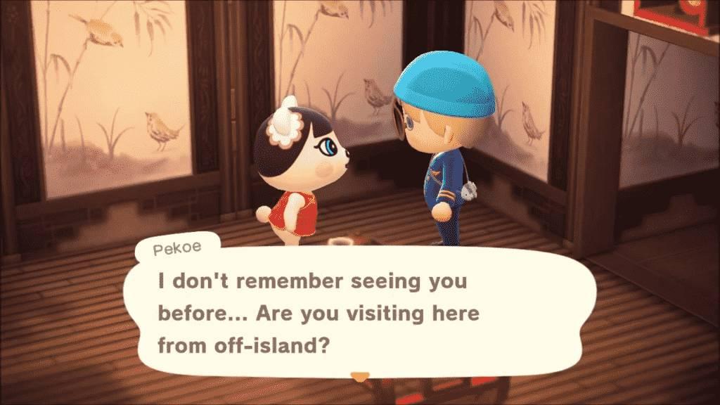 Pekoe Animal Crossing-Personality