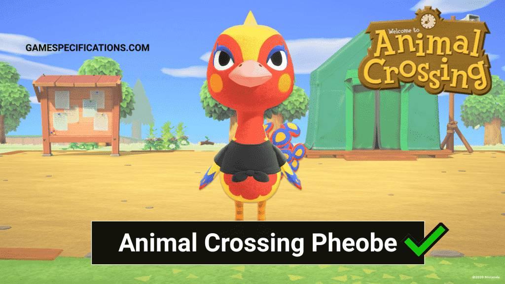 Phoebe Animal Crossing