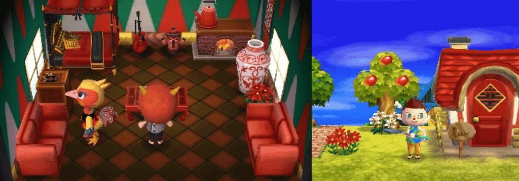 Phoebe Animal Crossing House New Leaf