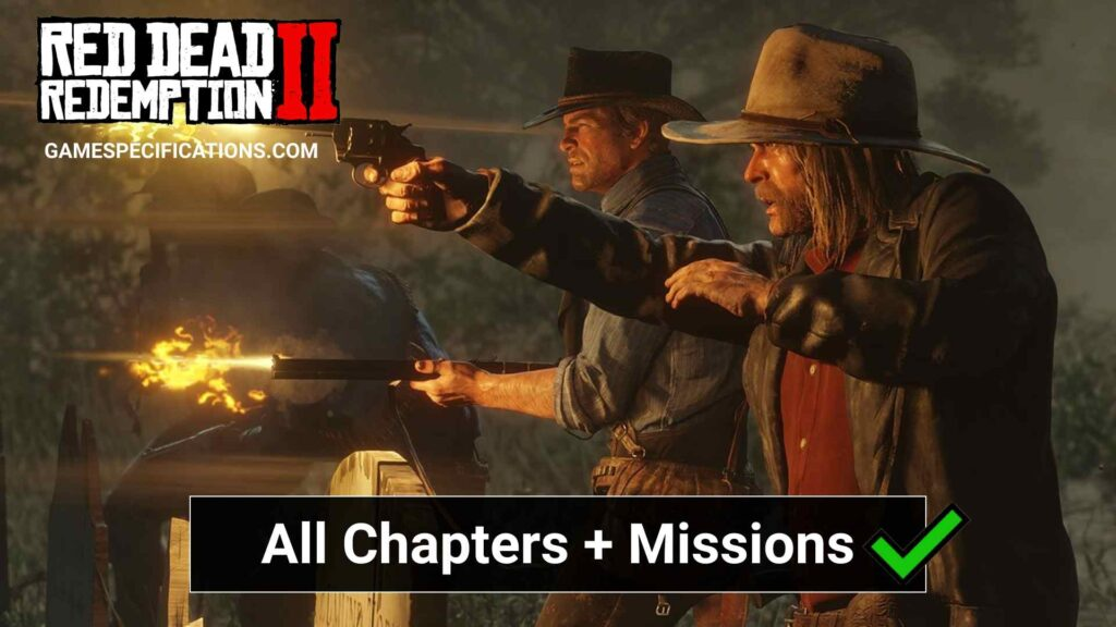 Red Dead Redemption 2 Chapters