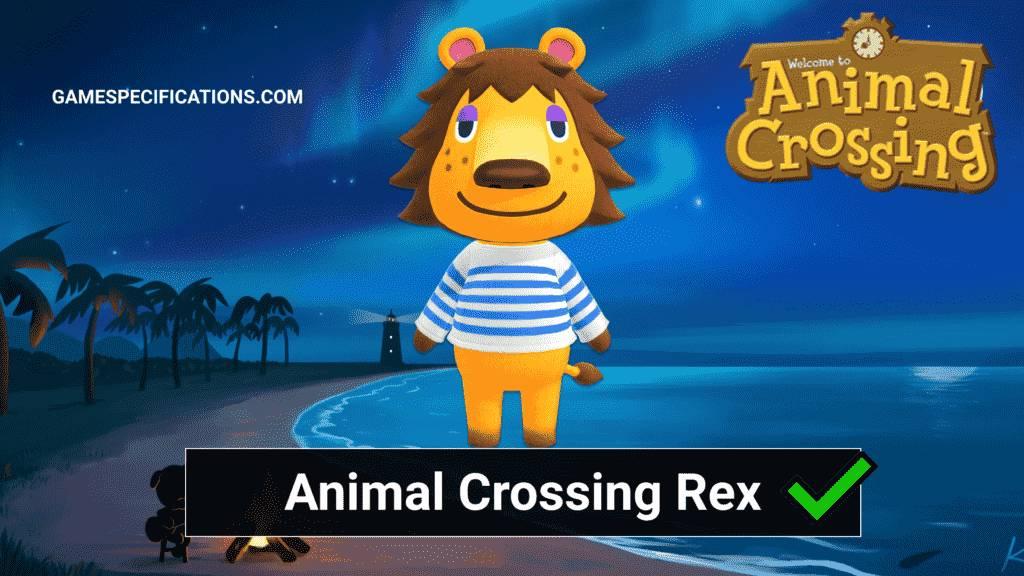 Rex Animal Crossing