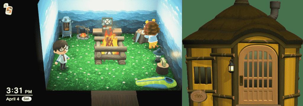 Rex Animal Crossing House