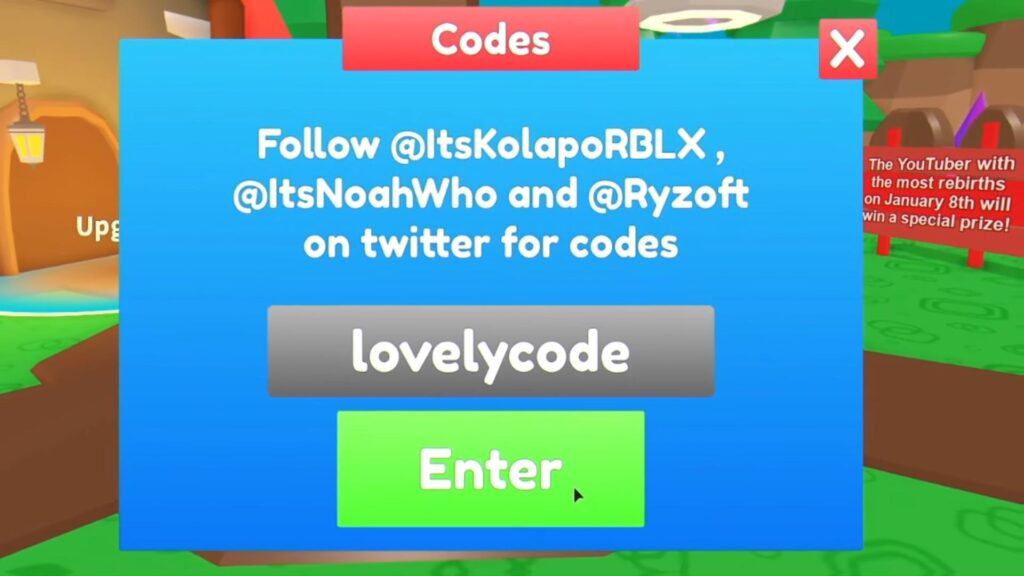 Roblox Adoption Simulator Codes List