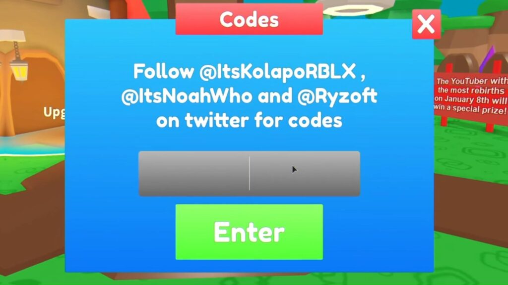 Redeem Roblox Adoption Simulator Codes
