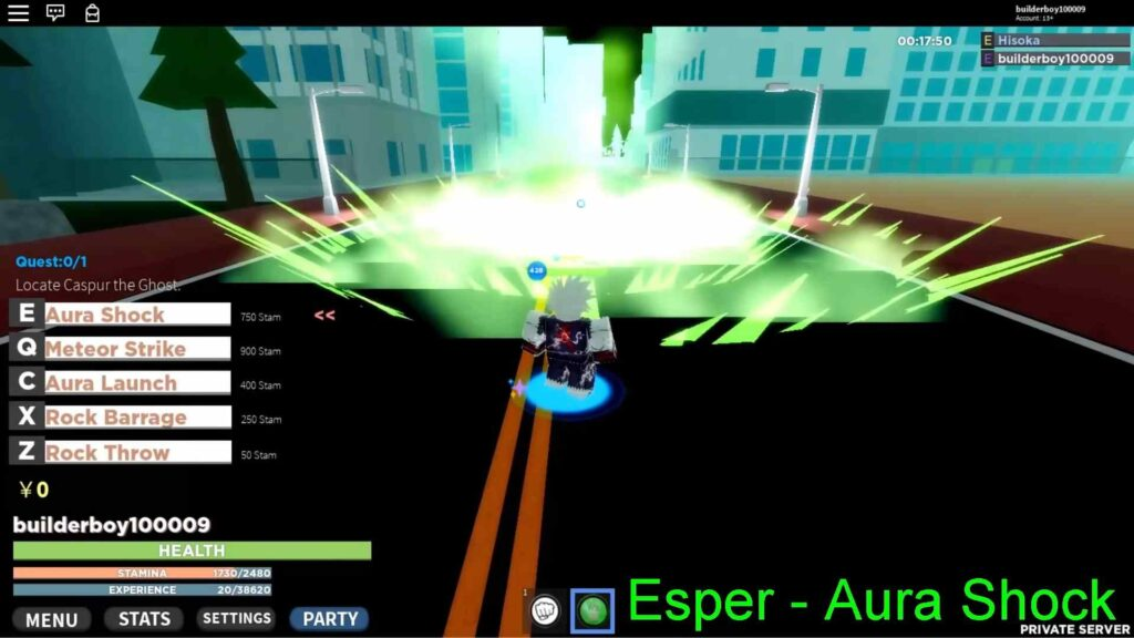 Roblox Esper Online Gameplay