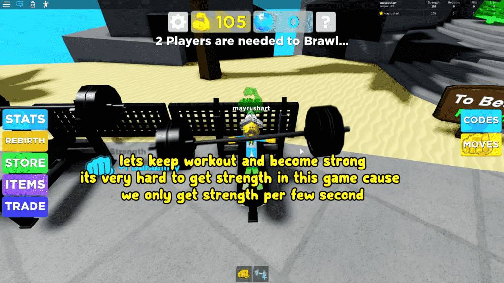 Roblox Muscle Legends Gameplay