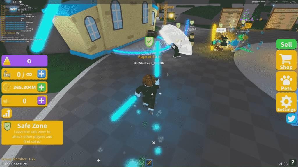 Roblox Saber Simulator Gameplay 2