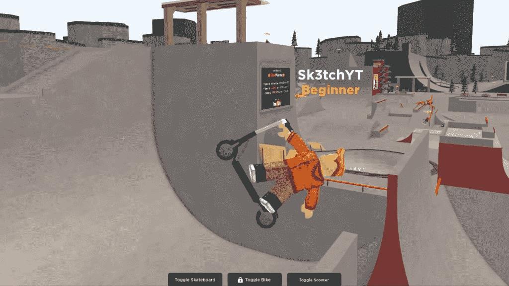 Roblox Skate Park Gameplay