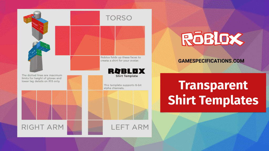 Roblox Transparent Shirt Templates