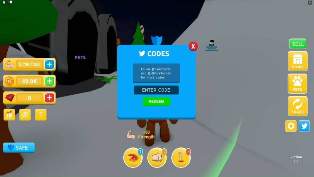 Redeem Roblox Workout Island Codes