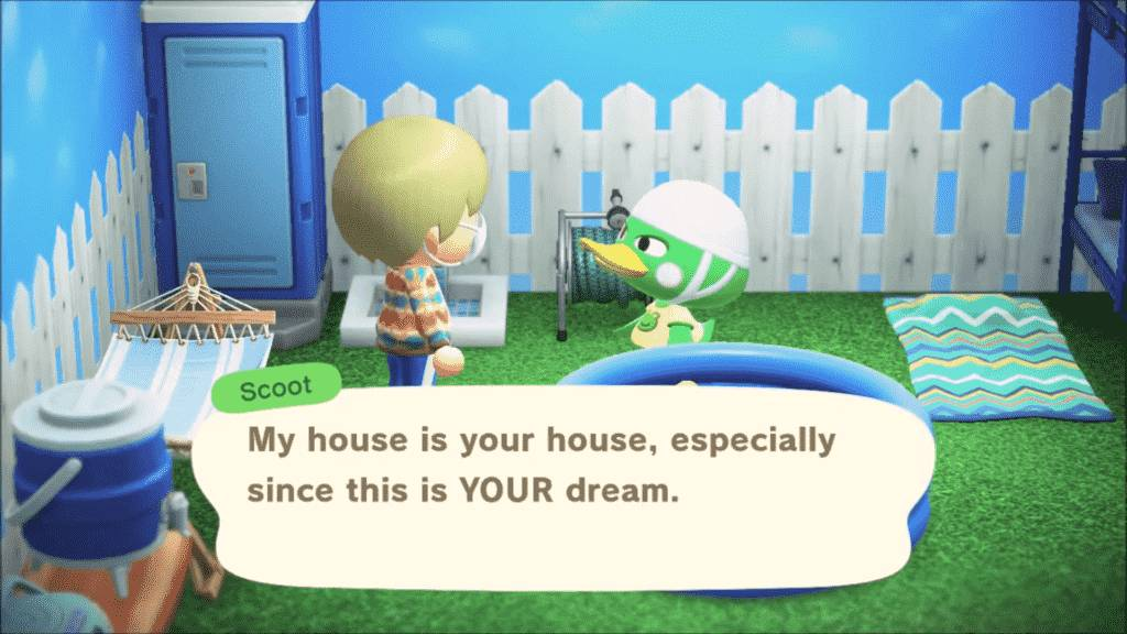 Scoot Animal Crossing Personality