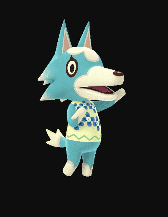 Skye Animal Crossing: Appearance