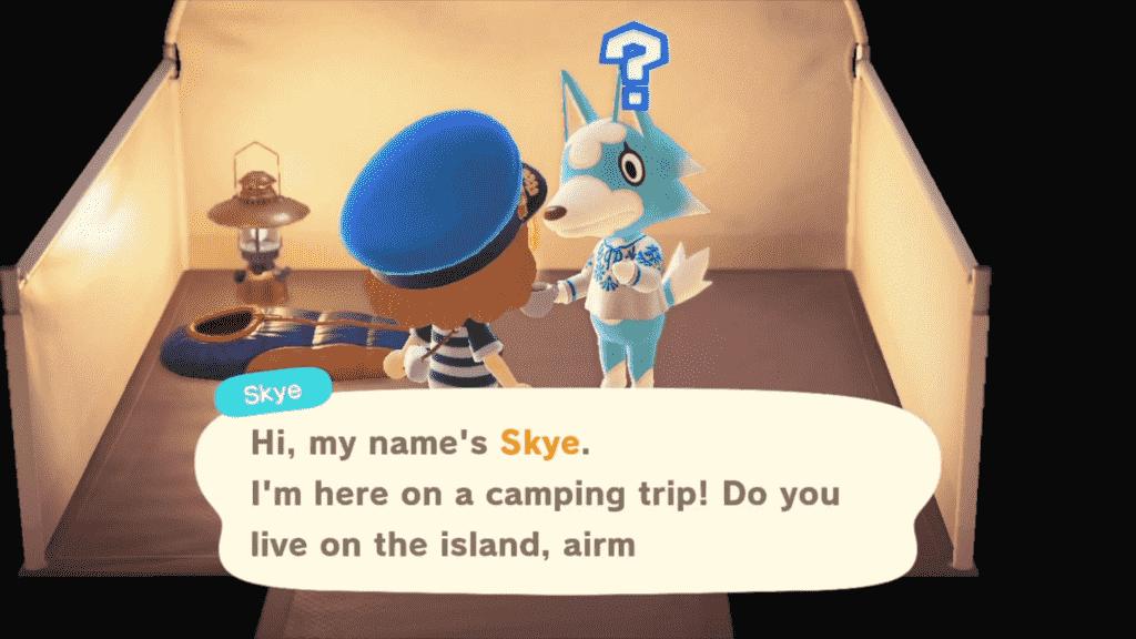 Skye Animal Crossing: Personality